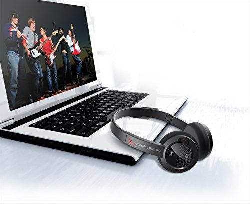 photo Wallpaper of Sound Blaster-Creative Sound Blaster JAM Bluetooth Headset Mit NFC, Schwarz-Schwarz