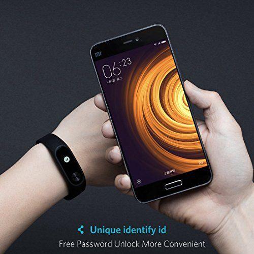 photo Wallpaper of ANGGO-Fitness Tracker,Original Xiaomi Mi Band 2 Pulsera Bluetooth 4.0 Con Pantalla OLED-XM Black