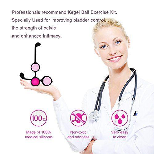 photo Wallpaper of ACVIOO-ACVIOO® Bolas Chinas Del Suelo Pélvico, Recomendado Por Médicos Para El Control-6 Sets