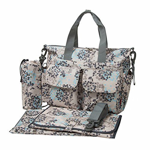 photo Wallpaper of Ecosusi-ECOSUSI Deluxe Designer Changing Tote Bags Mummy Handbags-Azul