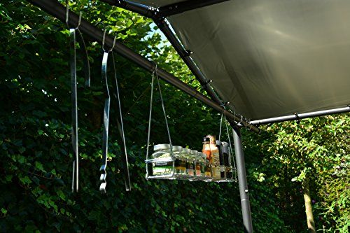photo Wallpaper of SORARA-BBQ Grill Pavillon | Dunkelgrau | 265 X 150 Cm | SORARA |-Grau