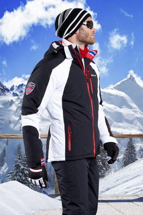 photo Wallpaper of Nebulus-Nebulus Herren Skijacke Davos, M, Schwarz-Schwarz