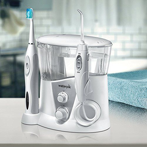 photo Wallpaper of Waterpik-Waterpik WP 950EU   Irrigador Y Cepillo De Dientes Electrico Sonico,-Blanco