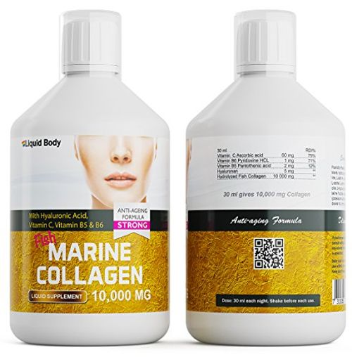 photo Wallpaper of Liquid Body-Liquid Body Premium Marina Colágeno (500ml) Alto Dosis 10.000 Mg Anti-