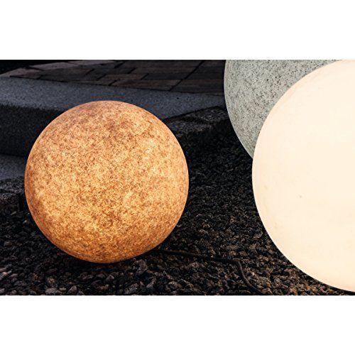 photo Wallpaper of insatech-Insatech Leuchtkugel PLANET Terracotta Dekoleuchte Verschiedene Größen Als Kugelleuchte Gartenkugel 350mm +-terracotta