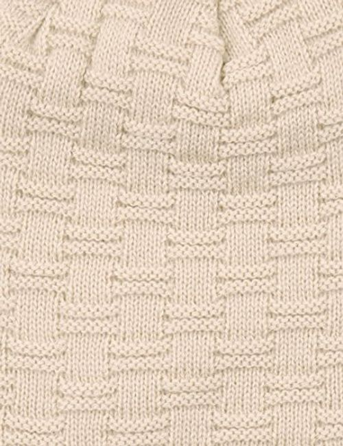 photo Wallpaper of Lower East-Lower East Herren Wintermütze / Beanie, Beige, OS-Beige (Beige)