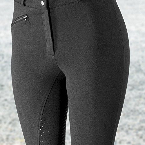photo Wallpaper of horze-Horze Active Reithose Damen Vollbesatzhose Silikon Grip,36-Schwarz (BL)