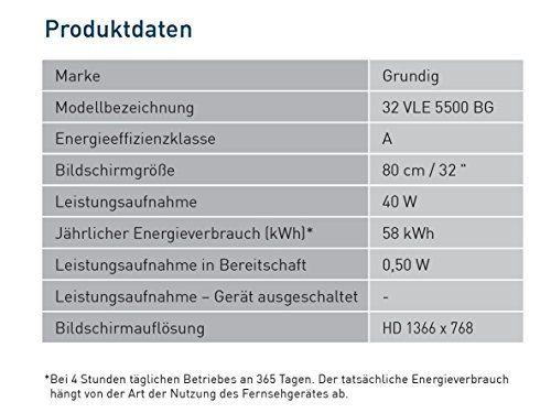 photo Wallpaper of Grundig-Grundig 32 VLE 5500 BG 81 Cm (32 Zoll) Fernseher (HD Ready, Triple Tuner)-schwarz