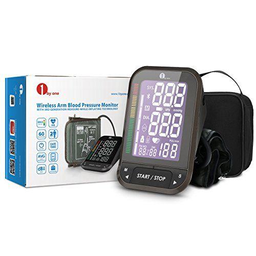 photo Wallpaper of 1byone-1byone Monitor Digital De Presión Arterial Bluetooth Con LCD Retroiluminado De-