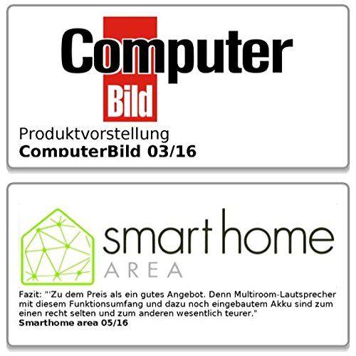 photo Wallpaper of auvisio-Auvisio WLAN Boxen: WLAN Multiroom Lautsprecher SMR 500.bt, BT, AirPlay, USB,-Schwarz
