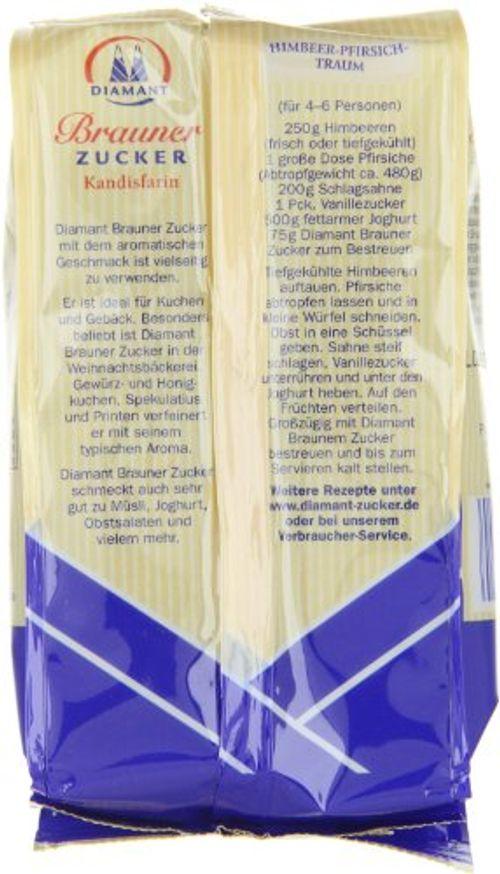 photo Wallpaper of Diamant-Diamant Brauner Zucker Kandisfarin, 12er Pack (12 X 500 G Packung)-