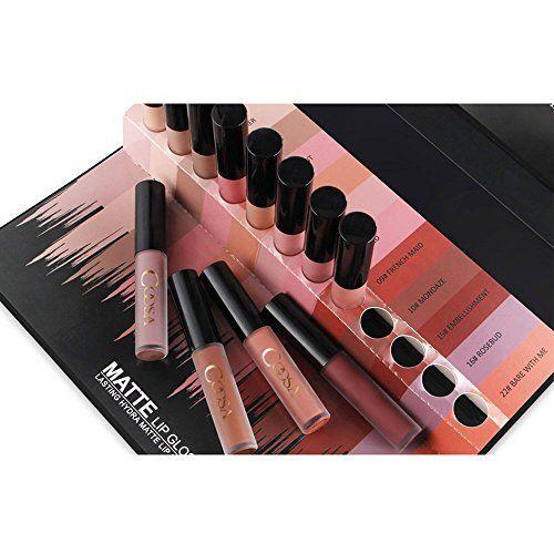 photo Wallpaper of Rechoo-Rechoo 12 Stück Wasserdicht Langlebig Matte Liquid Lipstick Schönheit Lippe Gloss,-12 pcs