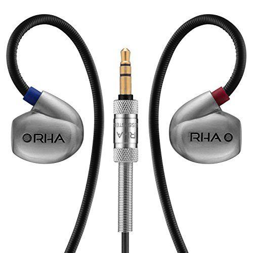 photo Wallpaper of RHA-RHA T20 High Fidelity, Geräuschisolierende, DualCoil™ In Ear Kopfhörer-Chrome