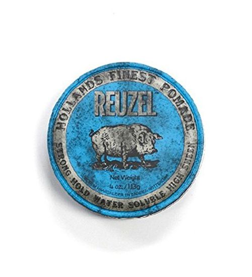 photo Wallpaper of Reuzel-Reuzel Pomade Blue Strong Hold High Sheen, 1er Pack (1 x 340 g)-