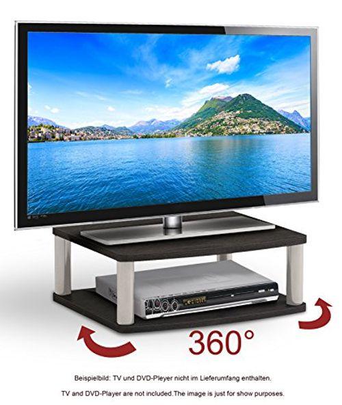photo Wallpaper of RICOO-RICOO TV Drehteller Fernsehtisch LCD Fernsehstand Drehbar FS052B LED Fernseher Tisch Aufsatz Flachbildschirm-FS052B / Drehbar / Schwarz