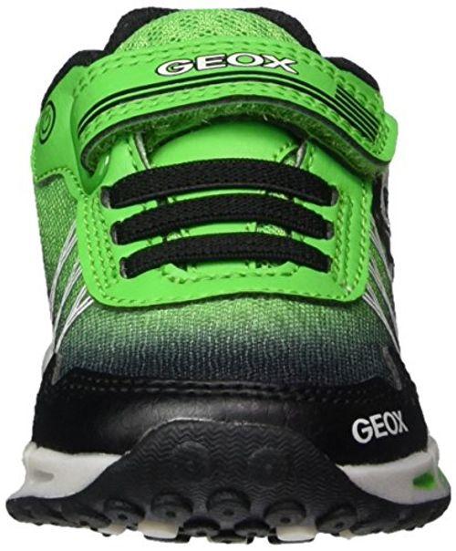 photo Wallpaper of Geox-Geox Jungen J Shuttle Boy B Sneaker, Schwarz (Black/Green), 38 EU-Schwarz (Black/Green)