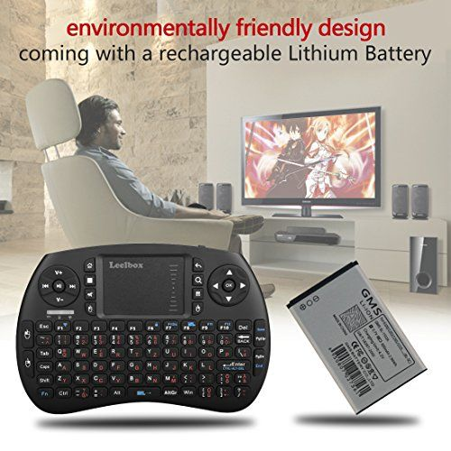 photo Wallpaper of Leelbox-(Sonderangebotswoche)Mini Drahtlose Tastatur Mit Touchpad Maus Leelbox 2,4Ghz Mini Wireless Keyboard Mini Usb-schwarz