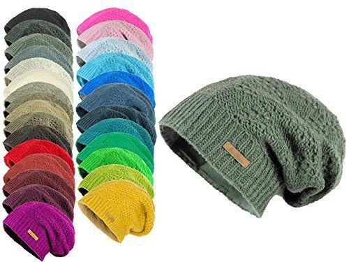 photo Wallpaper of McRon-McRon Wollmütze Lina Helltürkis Für Damen Mütze Beanie Slouch Strickmütze Wintermütze Warm-Helltürkis