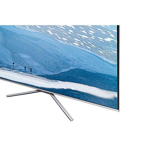 photo Wallpaper of Samsung-Samsung UE55KU6400SXXH 138 Cm (55 Zoll) Fernseher (Ultra HD, HDR, Smart TV)Energieklasse A-Silber