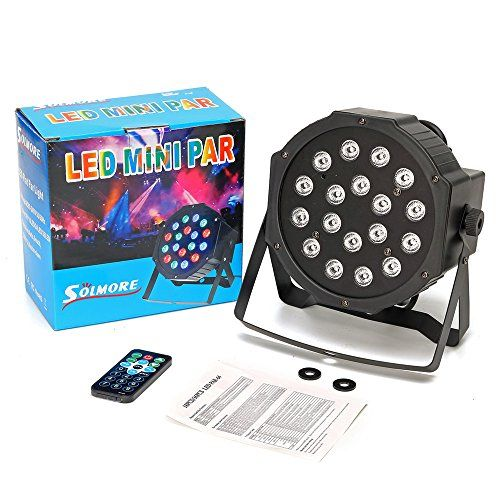 photo Wallpaper of SOLMORE-DJ Lichteffekte,SOLMORE Disco Licht 18W 18LED LED PAR Licht DJ Licht-