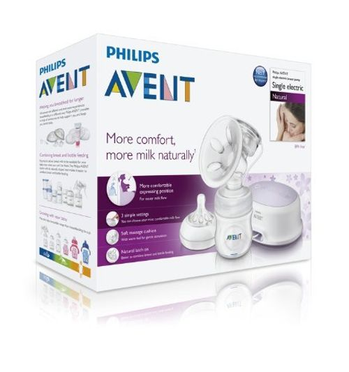 photo Wallpaper of Philips Avent-Philips Avent SCF332/01   Sacaleches, Extractor De Leche Eléctrico, Con Cojín-