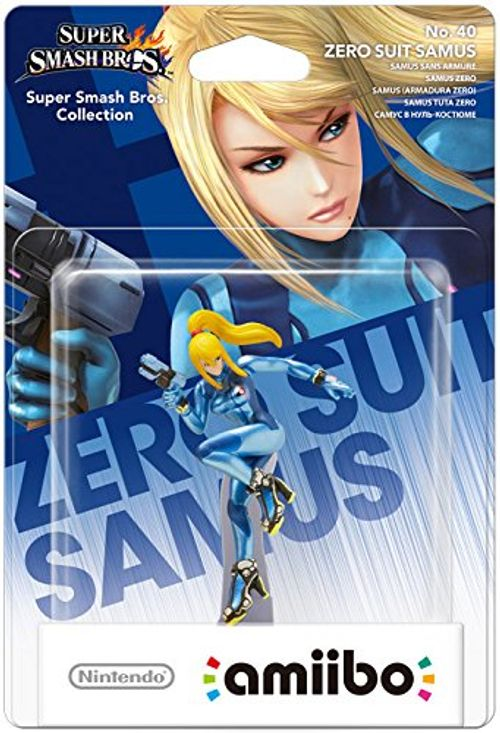 photo Wallpaper of Nintendo-Amiibo Smash Zero Suit Samus-Zero Zero Suit Samus
