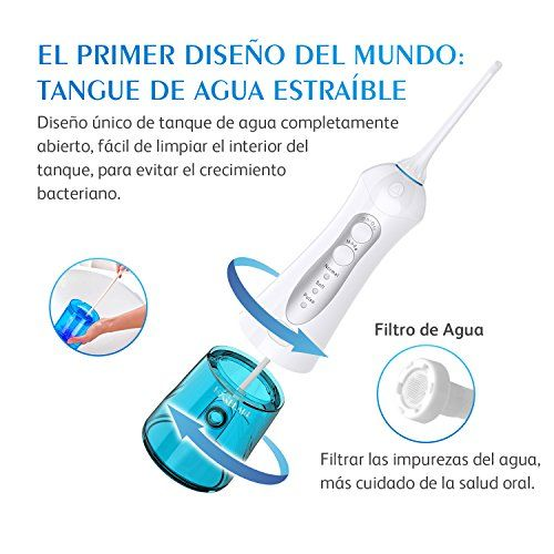 photo Wallpaper of Hyggeland-Irrigador Dental Profesional Hyggeland Irrigador Bucal Portátil Impermeable IPX7 Water-