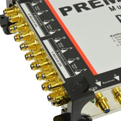 photo Wallpaper of PremiumX-PremiumX PXMS 17/8 Multischalter Mit Netzteil Multiswitch Sat Verteiler Full HD-