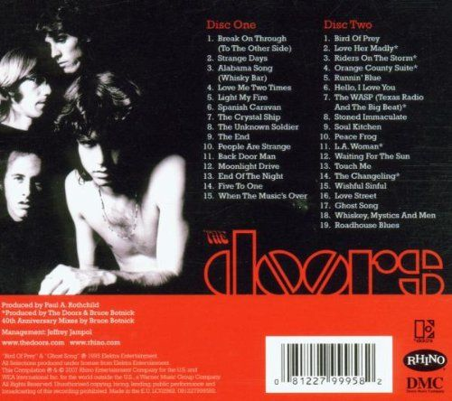 photo Wallpaper of RHINO RECORDS-The Very Best Of The Doors-