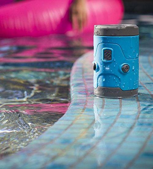 photo Wallpaper of Scosche-SCOSCHE   BoomBottle H2O IPX7 Wasserdichter Bluetooth Lautsprecher 5 Watt-Blau