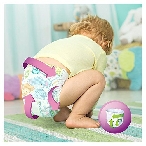 photo Wallpaper of Pampers-Pampers   Pañal Active Fit Maxi 8 16kg (168 Unidades)-