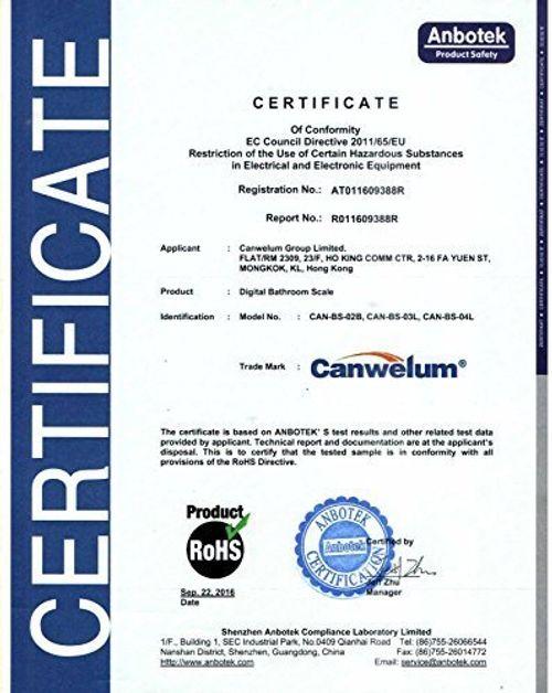 photo Wallpaper of Canwelum-Canwelum   Bascula De Baño Digital De Precisión, Báscula Baño Digital  -Azul
