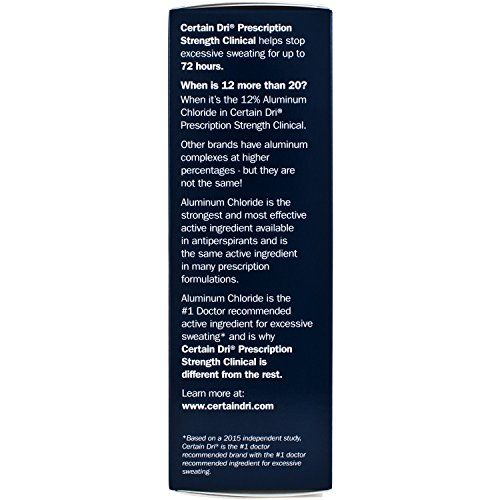 photo Wallpaper of Certain Dri-Certain Dri Antiperspirant Roll On For Excessive Perspiration 1.2 Oz By Certain-