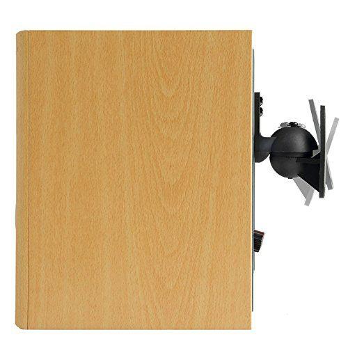 photo Wallpaper of VonHaus-VonHaus Halterung Lautsprecher Schwarz Universal Lautsprecher Wandhalterung 2 Stück Set-schwarz