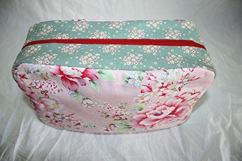 photo Wallpaper of Lilli Löwenherz-Lilli Löwenherz Kulturtasche Badetasche Wickeltasche Hibiscus Pink-grün, rosa, rot, blau, weiß, lila