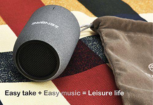 photo Wallpaper of ZENBRE-Tragbare Lautsprecher, ZENBRE M4 Kabellose Bluetooth4.2 Lautsprecher, Mini Computer Lautsprecher Mit Verstärktem Bass-Schwarz