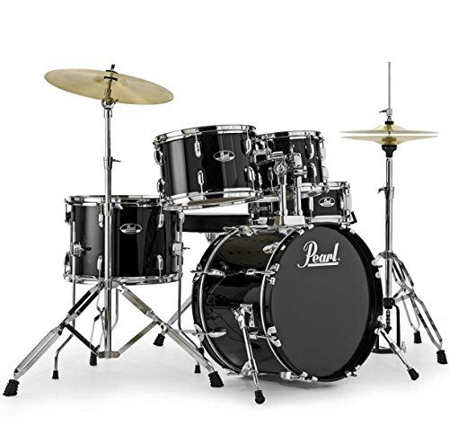 photo Wallpaper of PEARL-Pearl Roadshow RS585C C31 Schlagzeug + KEEPDRUM Kopfhörer + 1-