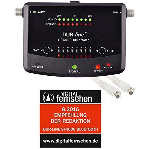 photo Wallpaper of DUR-line-NEUHEIT! Bluetooth Easy SatFinder   DUR Line SF 4000 BT   Mit-