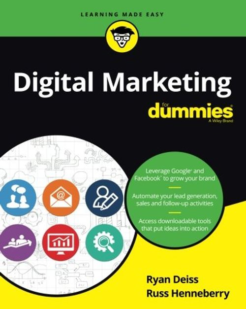 photo Wallpaper of -Digital Marketing For Dummies (For Dummies (Business & Personal Finance))-
