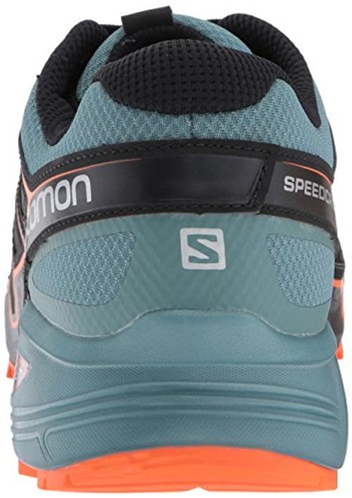 photo Wallpaper of Salomon-Salomon Speedcross Vario 2, Herren Trailrunning Schuhe, Multicolore (Bk/North Atla/Scarlet), 43 1/3 EU-Multicolore (Bk/North Atla/Scarlet)