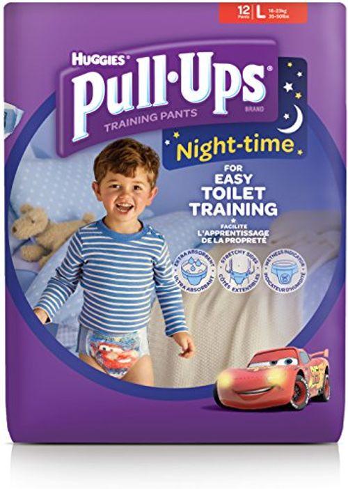 photo Wallpaper of Huggies-Huggies Pull Ups De La Noche Tiempo–pantalones De Entrenamiento Para El Orinal Para-