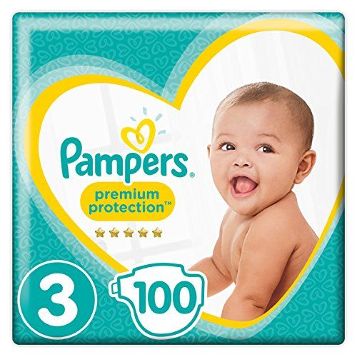 photo Wallpaper of Pampers-Pampers   Premium Protection   Couches Taille 3 (5 9 Kg)-Blanco