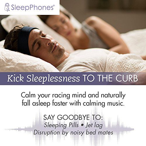 photo Wallpaper of AcousticSheep -AcousticSheep SleepPhones V.6 Classic Breeze Wireless Bluetooth Kopfband Kopfhörer, Galaxy Blue,-Galaxy Blue