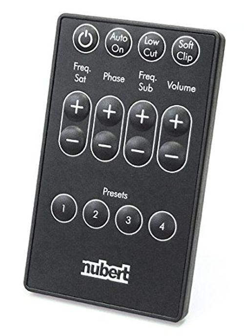 photo Wallpaper of Nubert-Nubert NuBox AW 443 Aktiv Subwoofer (22,0 Cm Langhub Tieftöner, 160/220 Watt, 26 150-Ebenholz / Schwarz
