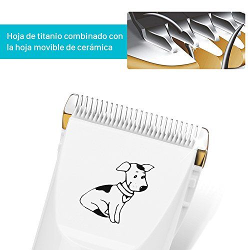photo Wallpaper of GHB-GHB Cortapelo Para Perro Esquiladora Eléctrica Dog Clipper Recargable Para Mascota Gato-Blanco