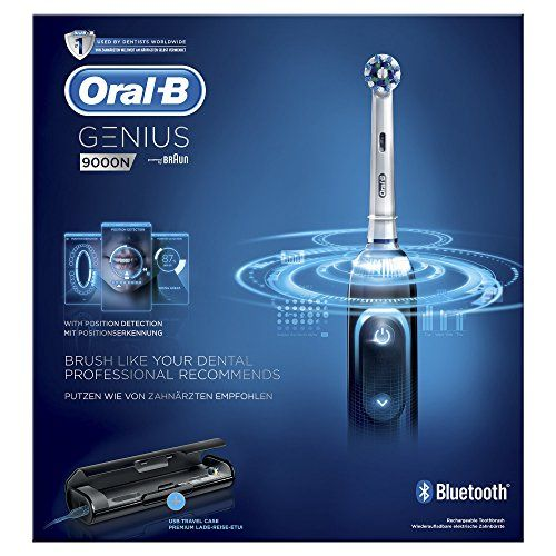 photo Wallpaper of Oral-B-Oral B Genius 9000   Cepillo De Dientes Eléctrico, SmartRing, 6-Negro