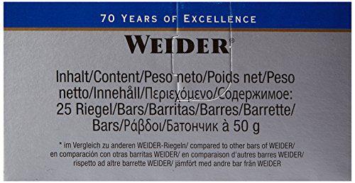 photo Wallpaper of Weider-Weider 40% High Protein Low Carb Bar, 24 Barritas De 50g-