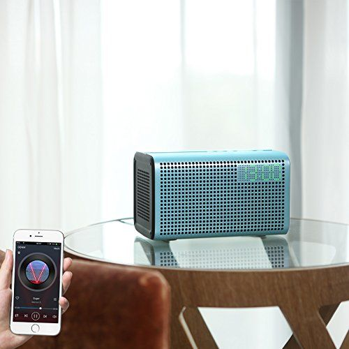 photo Wallpaper of GGMM-GGMM E3 Wi Fi Lautsprecher Bluetooth Speaker OHNE Alexa Wireless Multiroom System-blau