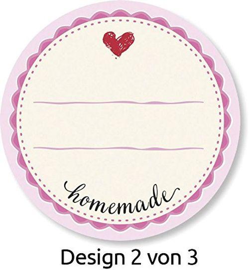 photo Wallpaper of AVERY Zweckform-AVERY Zweckform 56819 Sticker Auf Rolle, Marmelade (38 Mm, Im Spender) 50 Aufkleber-