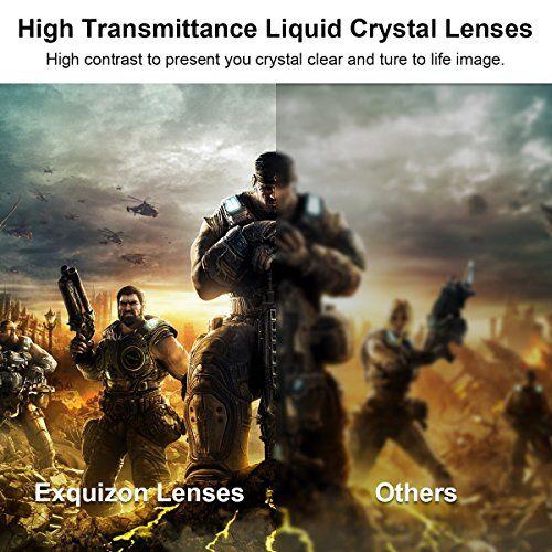 photo Wallpaper of ExquizOn-2 X DLP Link 3D Brille Aktive Shutterbirlle, ExquizOn G06 DLP-Schwarz